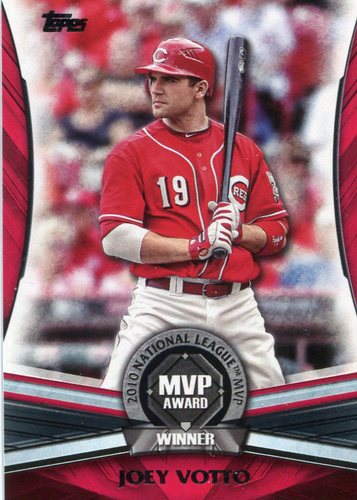 Photo of 2017 Topps Update MVP Award #MVP14 Joey Votto