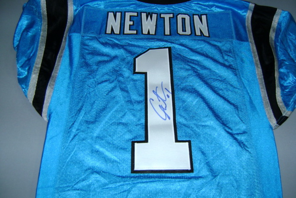 the best attitude 8ecd6 2aee4 NFL Auction | PANTHERS - CAM NEWTON SIGNED AUTHENTIC ...