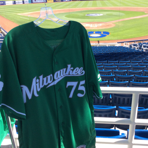 Photo of Luis Ortiz 2018 Team-Issued St. Patrick's Day Jersey