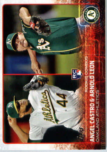 Photo of 2015 Topps Update #US193 Angel Castro RC/Arnold Leon RC