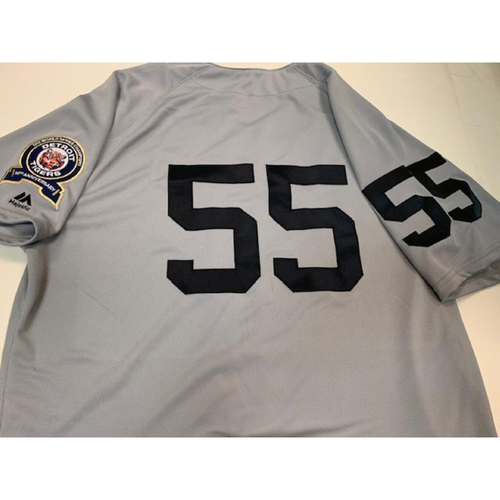 Photo of Team-Issued 1968 50th Anniversary Jersey: #55