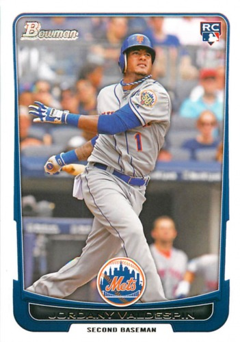 Photo of 2012 Bowman Draft #32 Jordany Valdespin RC