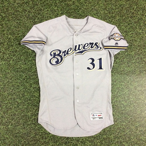 Photo of Carlos Subero 2018 Game-Used Opening Day Jersey