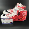 My Cause My Cleats - Broncos Austin Schlottman Signed Game Used Cleats