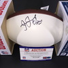 NFL - Redskins Joe Jacoby Signed Panel Ball w/