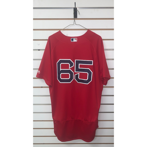 Photo of Yoan Moncada Game Used September 16, 2016 Home Alternate Jersey