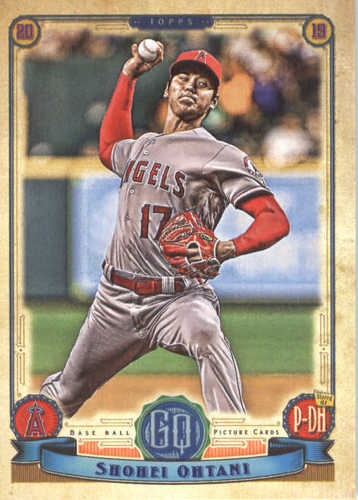 Photo of 2019 Topps Gypsy Queen #55 Shohei Ohtani
