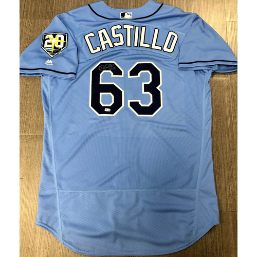 Photo of Autographed Jersey: Diego Castillo