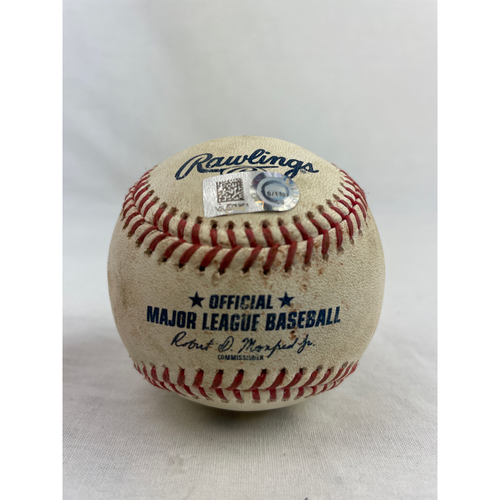 Photo of Casey Mize Game-Used Baseball - 4/12/2021 vs. DET