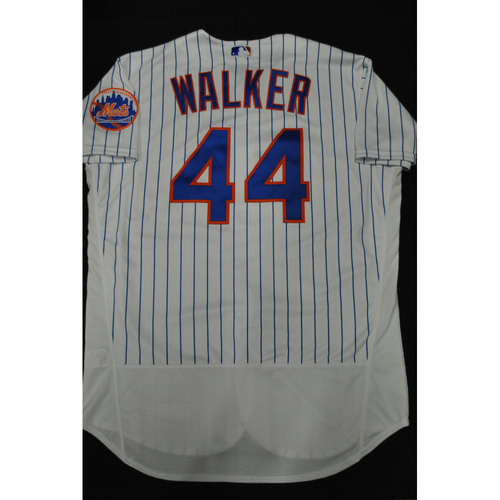 Photo of Hank Aaron Chasing the Dream Foundation: Taijuan Walker 2021 MLB All-Star Workout Day BP-Worn # 44 Jersey