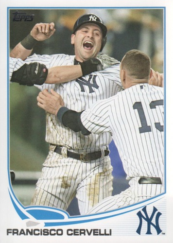 Photo of 2013 Topps #552 Francisco Cervelli