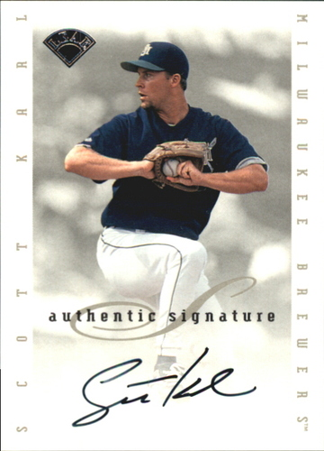 Photo of 1996 Leaf Signature Extended Autographs #97 Scott Karl