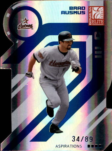 Photo of 2005 Donruss Elite Aspirations #70 Brad Ausmus/89