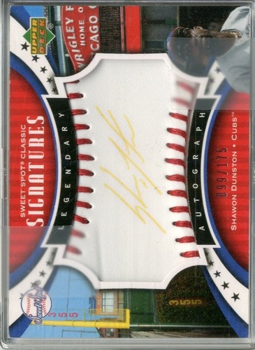 Photo of 2007 Sweet Spot Classic Signatures Red Stitch Blue Ink #WH Willie Horton/125