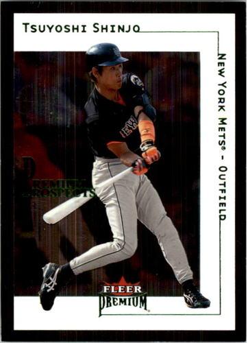 Photo of 2001 Fleer Premium #232 Tsuyoshi Shinjo RC