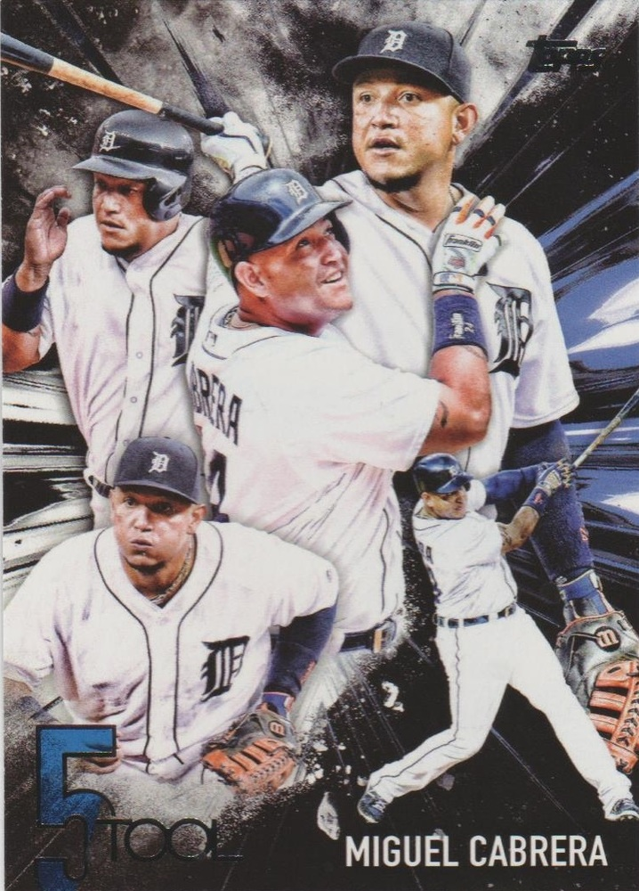 2017 Topps Five Tool #5T31 Miguel Cabrera
