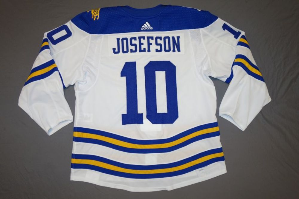 Jacob Josefson Buffalo Sabres 2018 Winter Classic Game-Worn Jersey