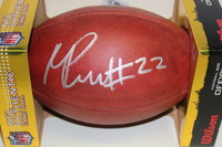 NFL - CHIEFS MARCUS PETERS SIGNED AUTHENTIC FOOTBALL