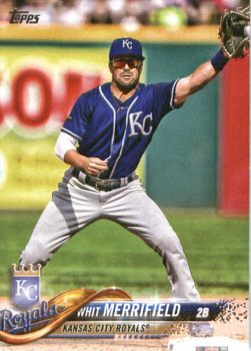 Photo of 2018 Topps #304 Whit Merrifield