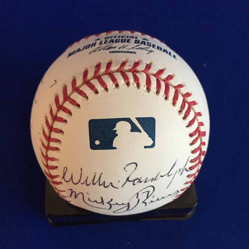 Photo of UMPS CARE AUCTION: Baseball Signed by Former Yankees Players - Not MLB Authenticated