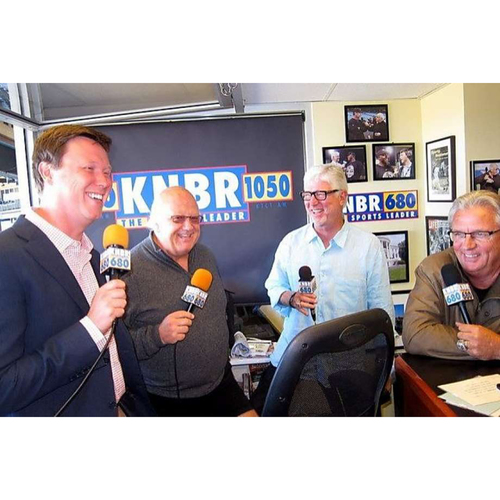 Photo of Giants Wives Auction: Broadcast Booth Visit with Kruk & Kuip and Jon & Dave