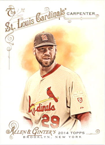 Photo of 2014 Topps Allen and Ginter #195 Chris Carpenter