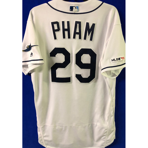 Photo of 2019 Opening Day Game Used Jersey: Tommy Pham - March 28, 29, 30 v HOU, April 1, 2 v COL, April 17 v BAL
