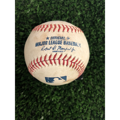 Photo of Freddie Freeman Game Used Hit Double - Career #299 - 6/2/2019
