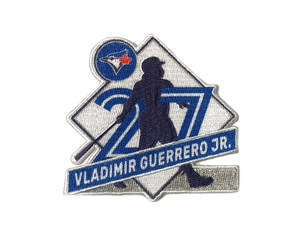 Toronto Blue Jays Guerrero Jr. Round 'Em Patch by The Emblem Source