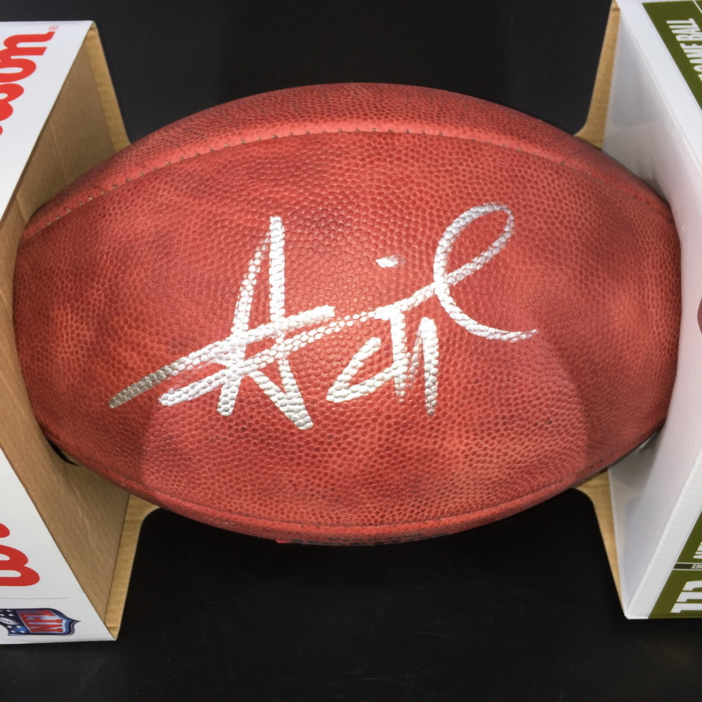 NFL - Saints Alvin Kamara Signed 2019 Pro Bowl Authentic Ball