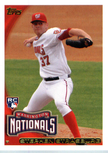 Photo of 2016 Topps Berger's Best #BB59 Stephen Strasburg