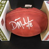 NFL - Lions Don Mulbach Signed Authentic Football