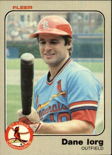 Photo of 1983 Fleer #10 Dane Iorg