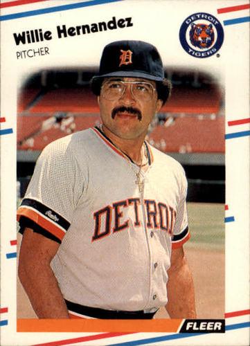 Photo of 1988 Fleer #58 Willie Hernandez