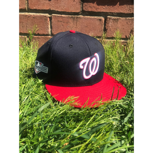 Photo of Howie Kendrick Game-Used Cap Worn 2019 NLCS