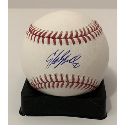 Photo of Starling Marte Autographed Baseball