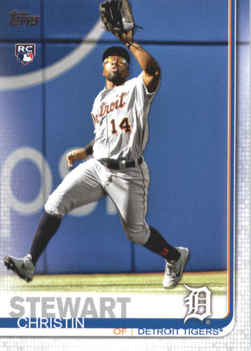 Photo of 2019 Topps #672 Christin Stewart RC