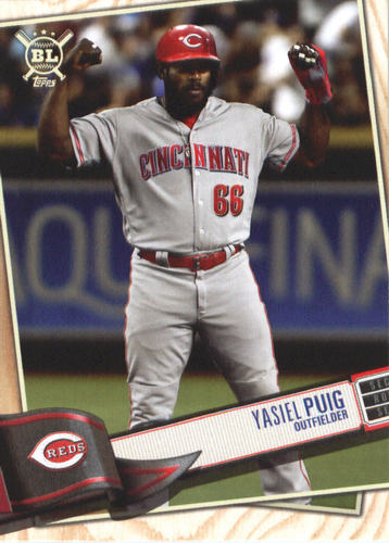 Photo of 2019 Topps Big League #4 Yasiel Puig
