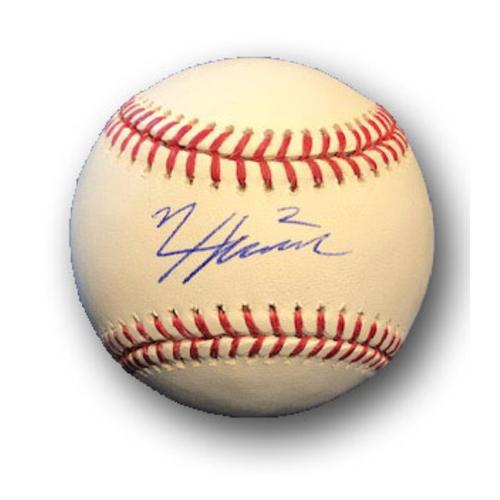 Photo of Nico Hoerner Autographed Baseball