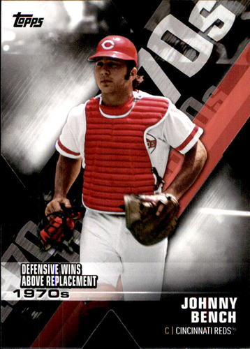Photo of 2020 Topps Decade of Dominance #DOD20 Johnny Bench