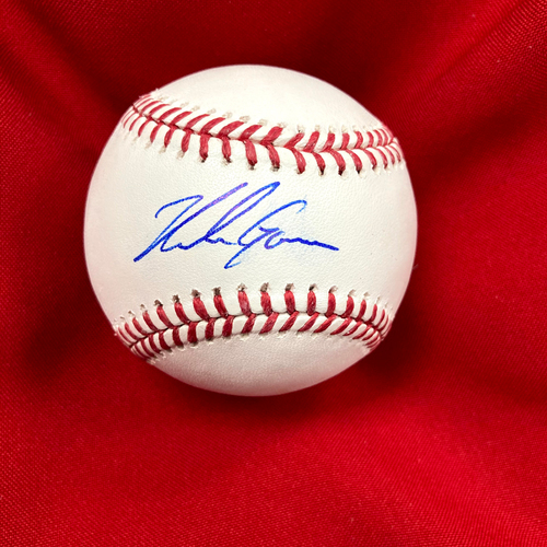 Photo of Nolan Gorman Autographed Baseball