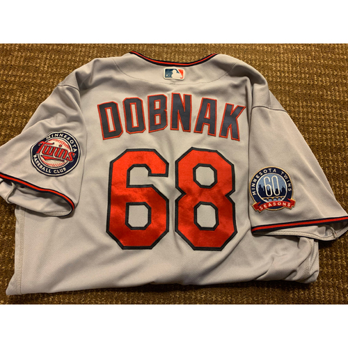 Photo of Randy Dobnak Team-Issued Jersey