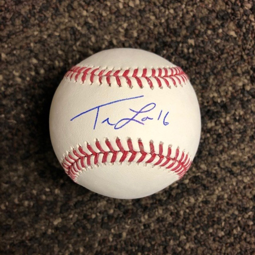 Photo of Tim Locastro Autographed Baseball