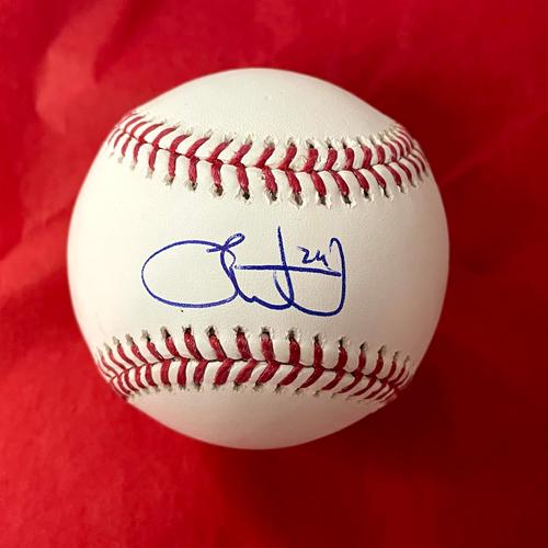Photo of Luke Weaver Autographed Baseball