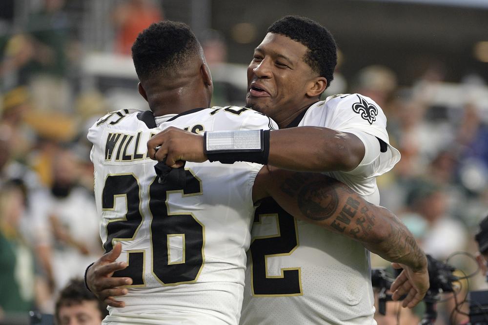 Hurricane Ida Relief - PJ Williams Game Worn Saints 2021 Kickoff Jersey vs Packers 9.12.21