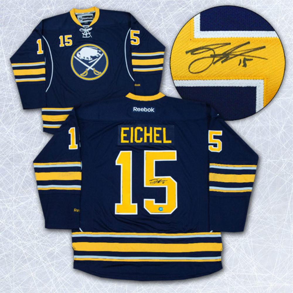 Jack Eichel Buffalo Sabres Autographed Blue Reebok Premier Hockey Jersey