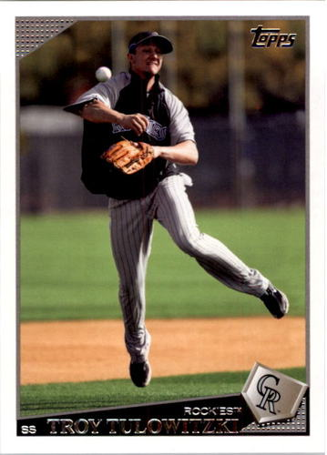Photo of 2009 Topps #411 Troy Tulowitzki