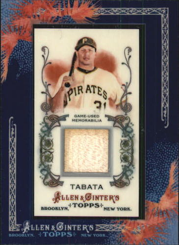 Photo of 2011 Topps Allen and Ginter Relics #JT Jose Tabata