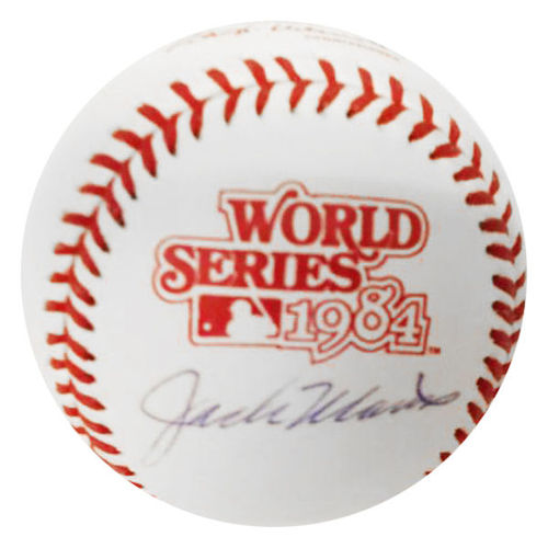 Photo of Jack Morris Autographed Baseball-1984 World Series Ball