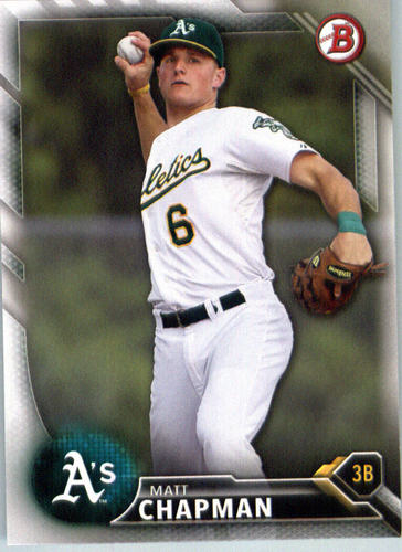 Photo of 2016 Bowman Prospects #BP147 Matt Chapman